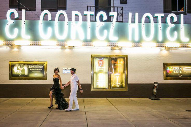 Downtown Las Vegas wedding - photo shoot by Glitter Lens Photography