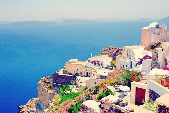Santorini Greece Travel Photography