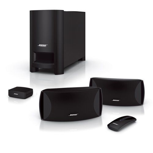 Bose® CineMate® Series II Digital Home Theater Speaker System: http://www.amazon.com/CineMate®-Series-Digital-Theater-Speaker/dp/B002KY2OU8/?tag=free4idea-20