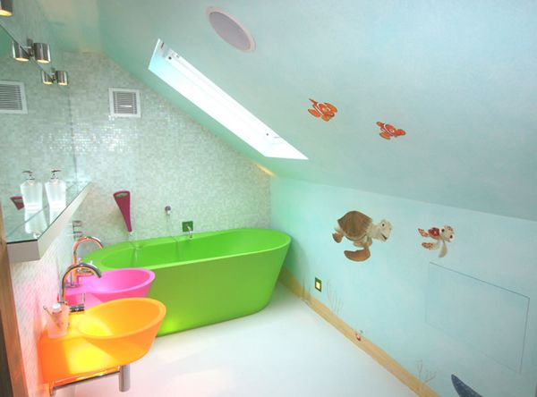 Best Kids Bathrooms Idea Images On Pinterest Bathroom Designs