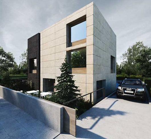Minimalist office exterior building fantastic office for Modern office building exterior design