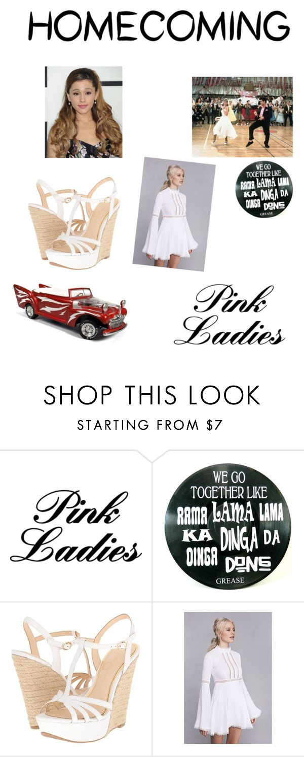 """""""Grease homecoming"""" by princessamya1 ❤ liked on Polyvore featuring Jessica Simpson"""