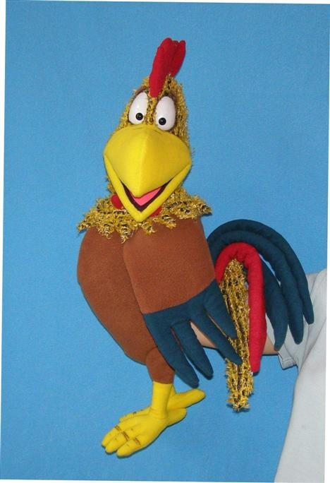 Pavlovs Puppets (Rooster puppet, Puppet for sale)