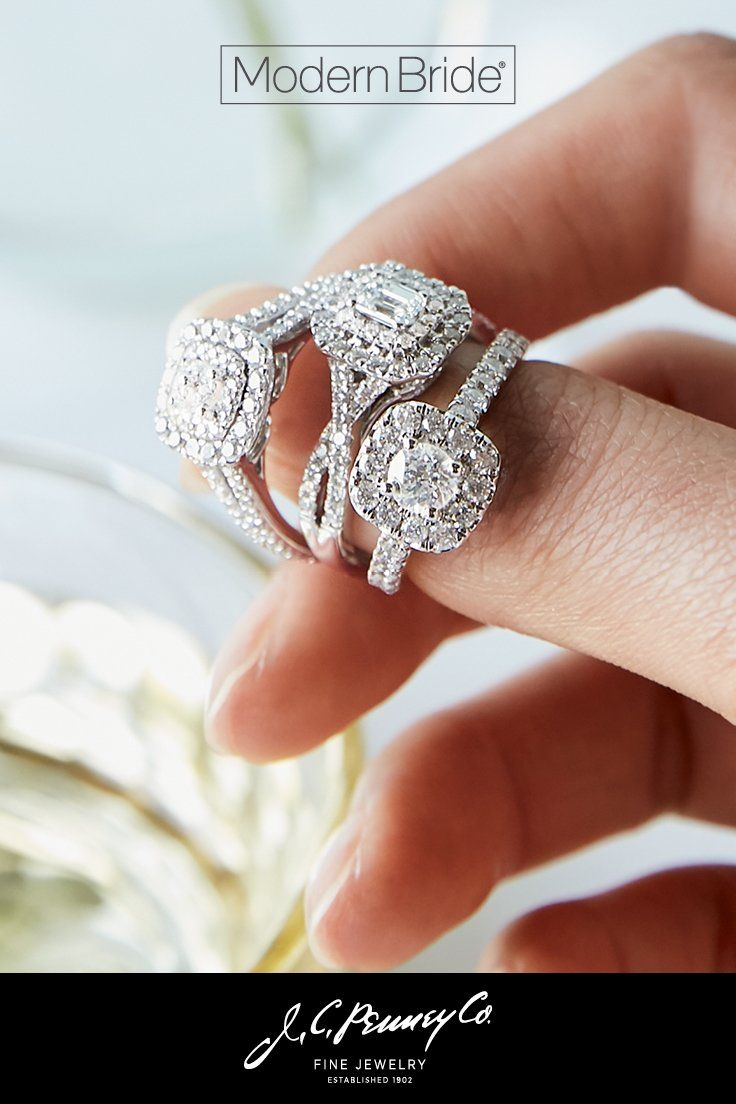Diamonds Are A Girl S Best Friend And The Jcpenney Modern Bride