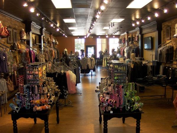 boutique interior.