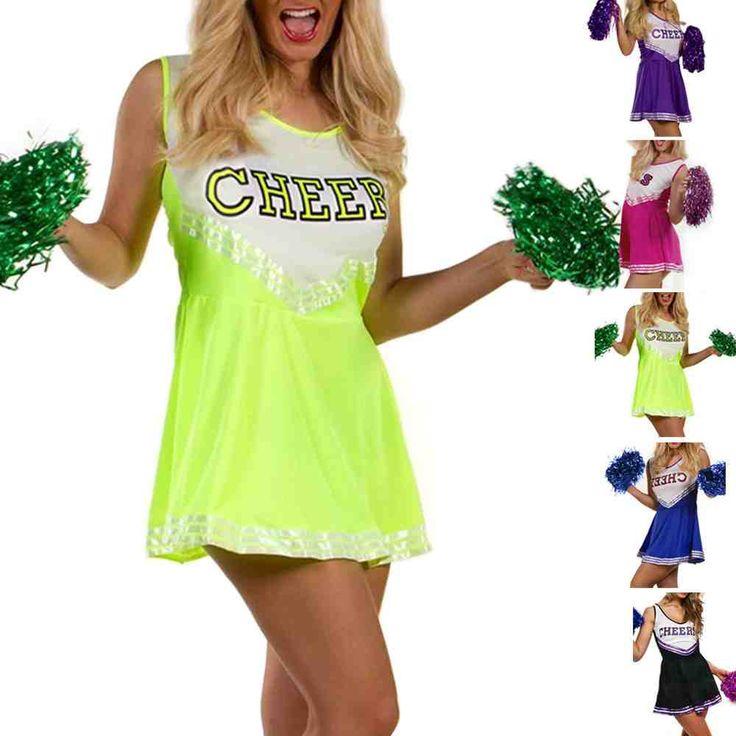 Green Cheerleader Costume