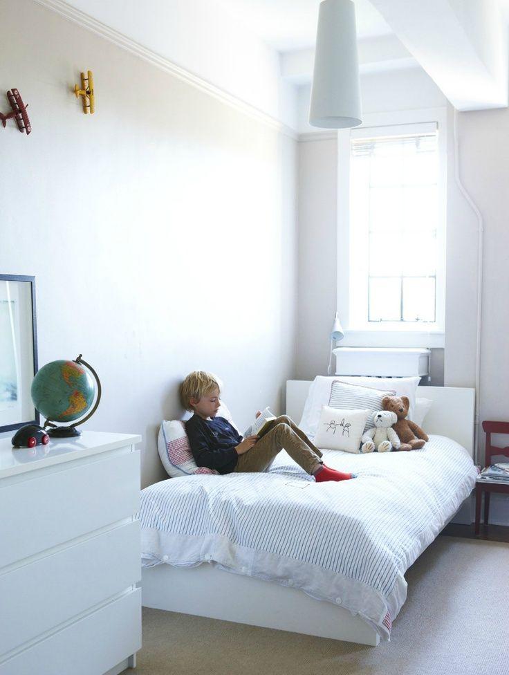 Ikea Malm Kinderkamer Wit Eenpersoonsbedden Malm En