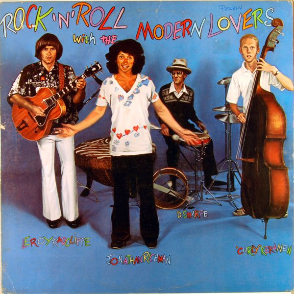 Jonathan Richman & The Modern Lovers - Rock 'N' Roll With The Modern Lovers (1977) #VinylTrails