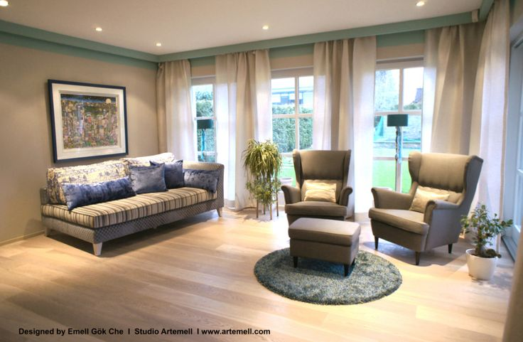 Living Room / Wohnzimmer at Private Client's House designed by Studio Artemell