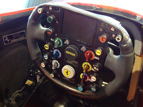 f1 steering wheels | Ferrari F1 2007, steering wheel.