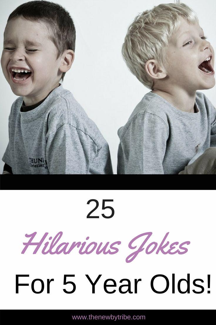 Hilarious Jokes 5 Year Olds