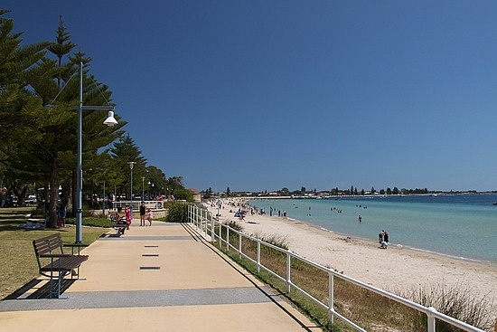 The Foreshore, Rockingham, Australia. I use to live here. Just for a short time.
