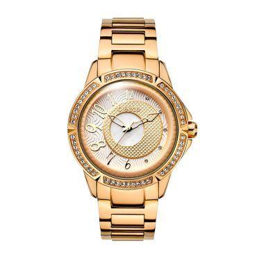Γυναικείο μοντέρνο αδιάβροχo ρολόι BREEZE Midnight Swing 210561.4 με μπεζ καντράν και ροζ ατσάλινο μπρασελέ   Ρολόγια BREEZE ΤΣΑΛΔΑΡΗΣ στο Χαλάνδρι #breeze #midnight #swing #μπρασελε #watches #ρολόγια