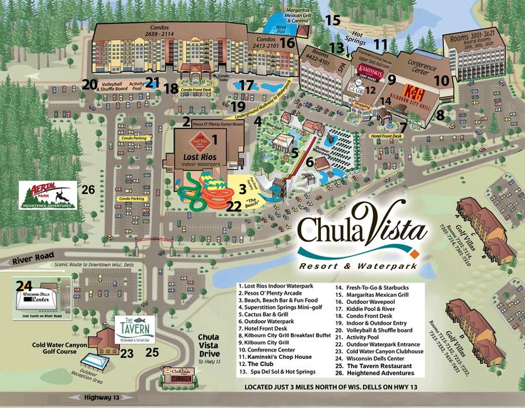 Chula Vista Resort Map - Chula Vista Resort Information | Chula Vista Resort