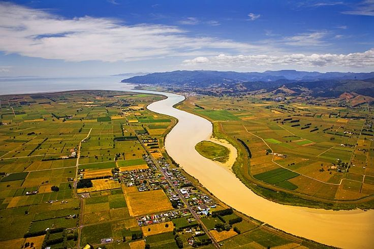 Thames, at the mouth of the, Waihou River, see more at New Zealand Journeys app for iPad www.gopix.co.nz