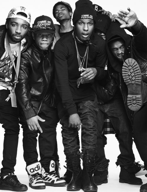 ASAP Rocky & The A$AP Mob is an American hip hop collective formed in 2007, in Harlem, New York,