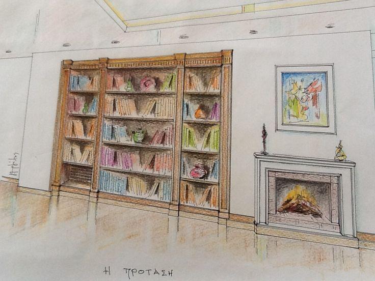 Bookcase B- opera