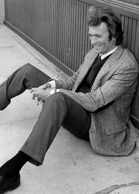 Clint Eastwood #fashion #menswear #style