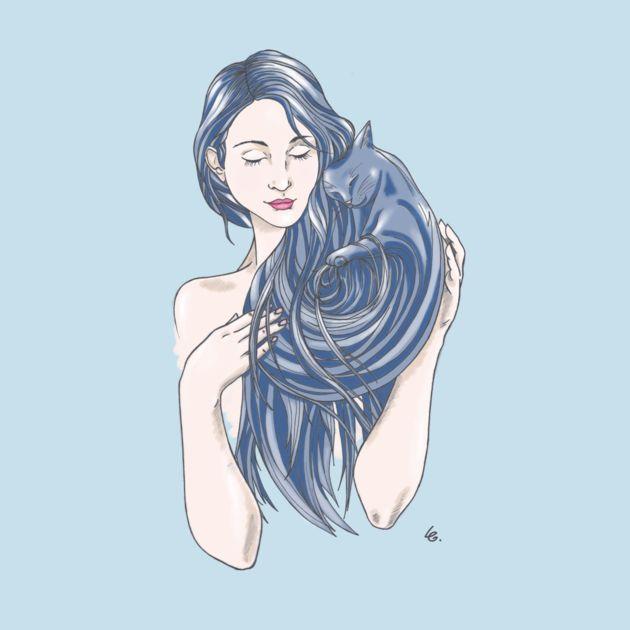 Purrrfect love (blue version)