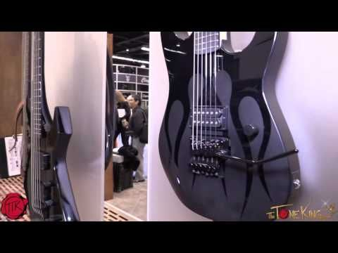 ▶ BC Rich Guitars Walk-Thru inc. New model VILLAIN PLOT : Winter NAMM 2014 ~ NAMM'14 - YouTube