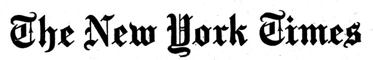 This decorative and medieval fonts creates classic mood, which goes well with popular newspaper company.
