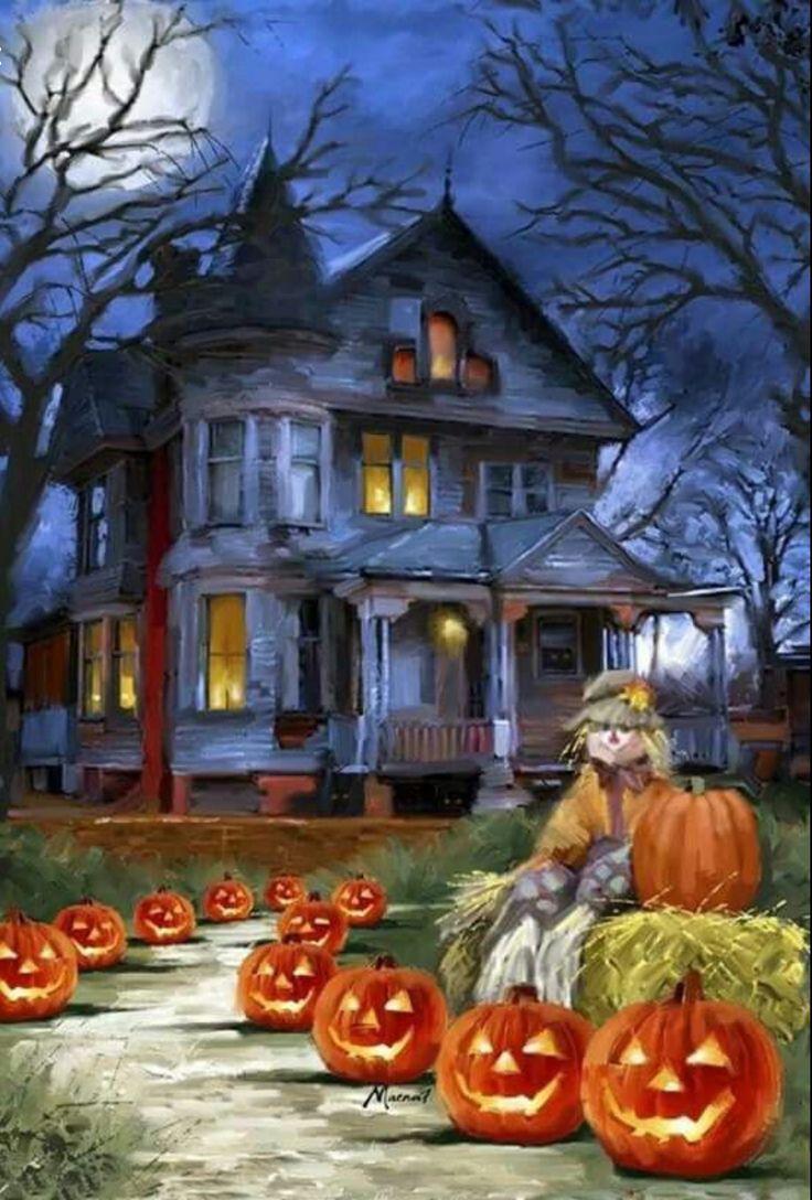 Best 25+ Halloween scene ideas on Pinterest | Halloween night ...