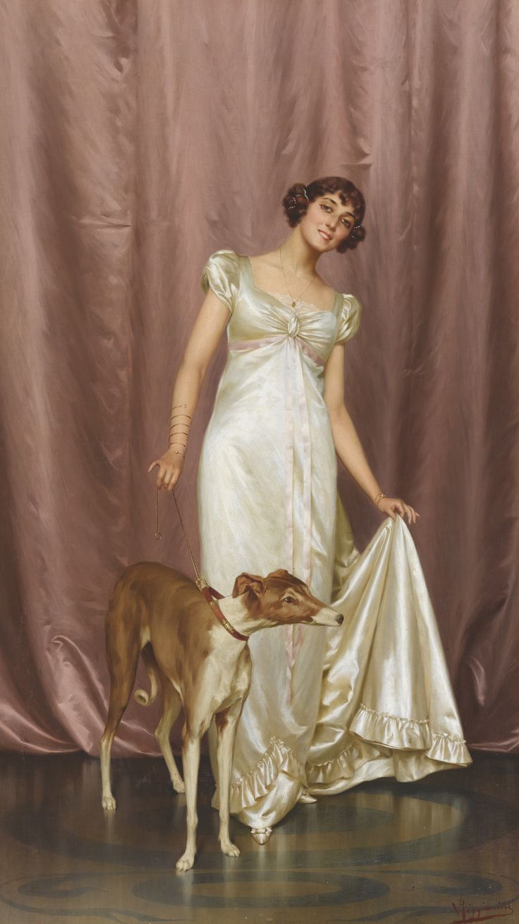 Vittorio Reggianini (italian, 1858 - 1938) - An elegant lady - by Sotheby's