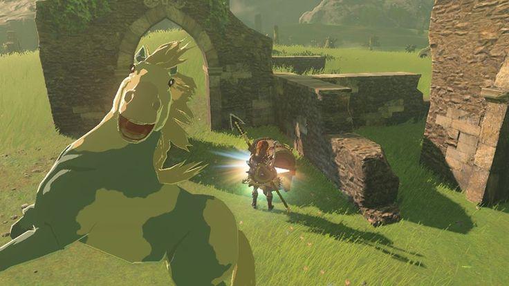 Horses in Zelda: Breath of t he Wild are truly majestic. Pinterest: Moonlightmania ○●