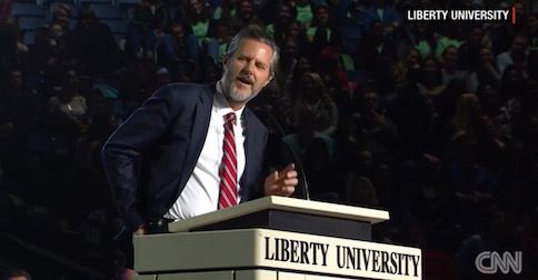 Jerry Falwell Jr. says Trump offered him this top job; here's why he turned it down . . .
