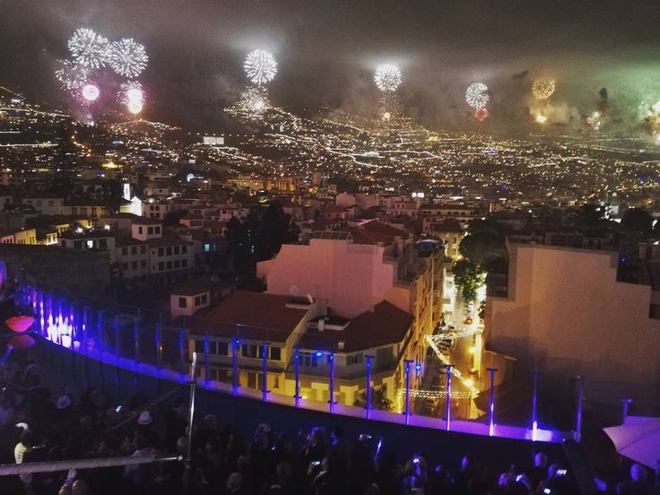Fireworks Madeira Island - Hotel The Vine Terrace