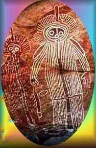 Australian Petroglyphs, Wondjina - Crystalinks