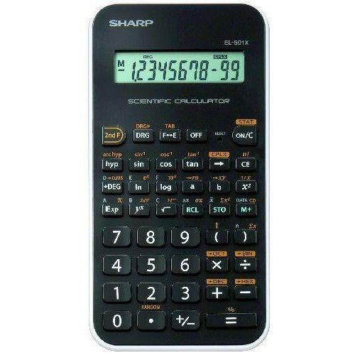 Sharp EL-501X-WH 131 funkciós tudományos számológép  - Fehér