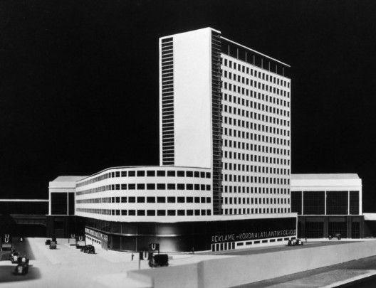 Erich Mendelsohn - (Berlin, unbuilt)