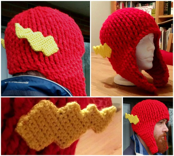 Flash bulky tuque