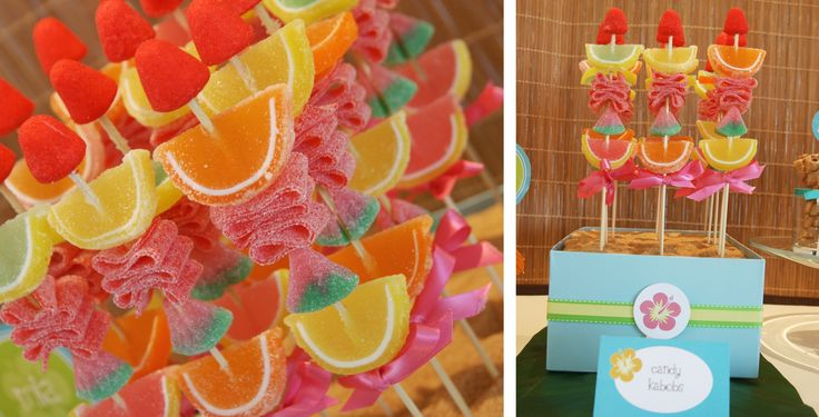 Image detail for -bright and colourful candy kabobs