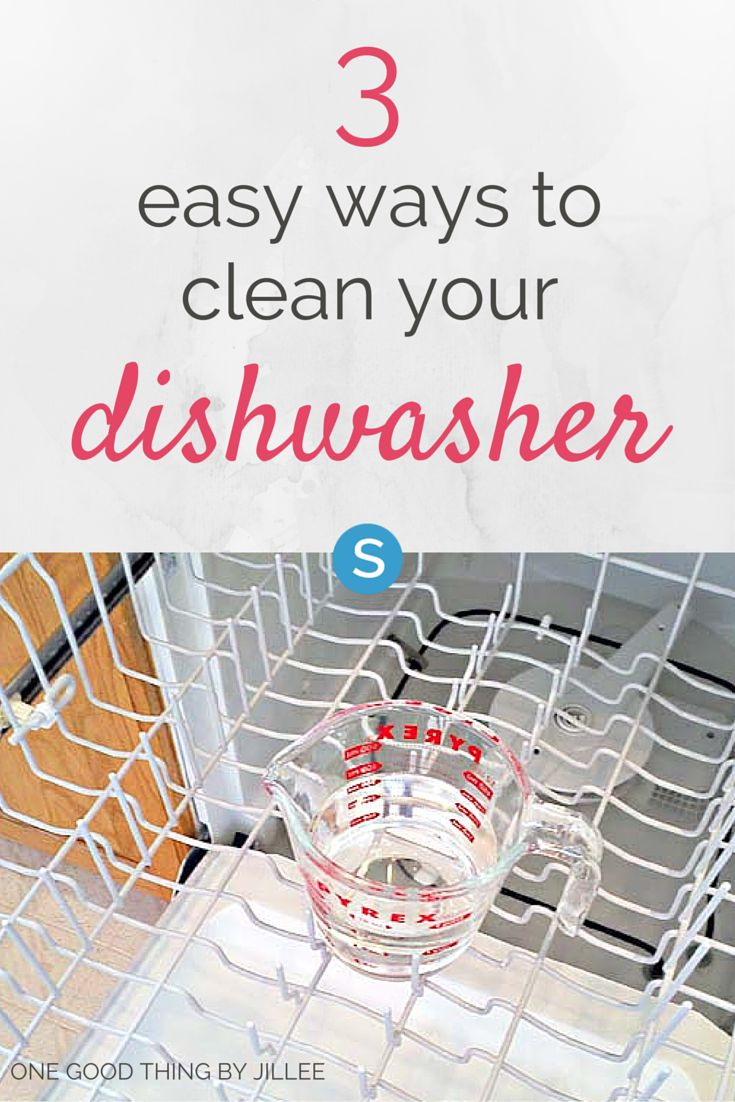 3 easy tips to clean your dishwasher. http://simplemost.com/3-super-simple-steps-to-get-your-dishwasher-clean?utm_campaign=social-account&utm_source=pinterest.com&utm_medium=organic&utm_content=pin-description