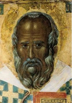 St. Nicholas' icon, donated by Serbian Orthodox Saint King Stephen of Decani, to the church in Bari, Italy, where the Saint's holy relics are located, in 1327.