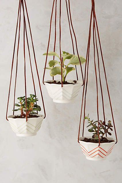 Candy Dish Hanging Pot - anthropologie.com....I think I could probably make these