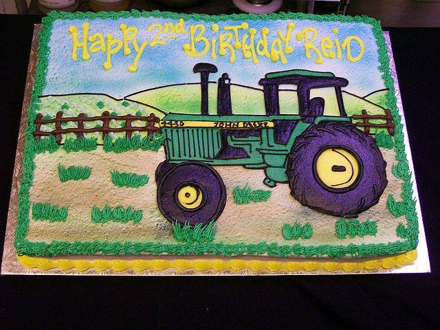 farming cake | John Deere Tractor Cake | Flickr - Photo Sharing!