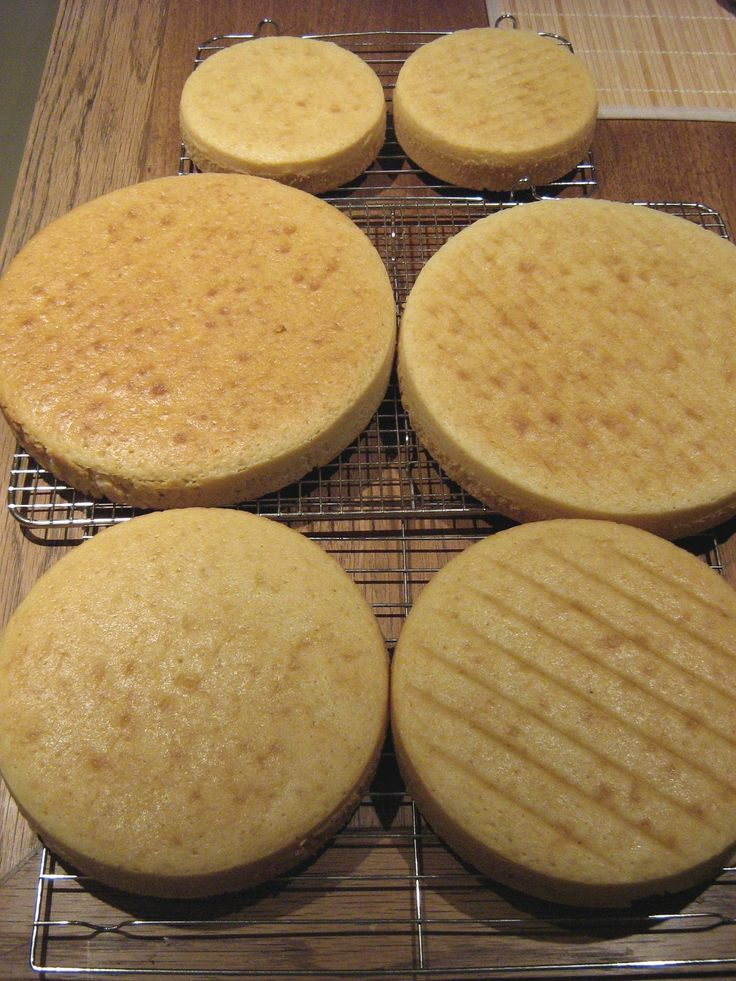 How to bake flat cakes