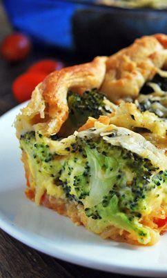 Hojaldre de Brócoli una tarta rica y nutritiva para cualquier ocasión, aquí la receta