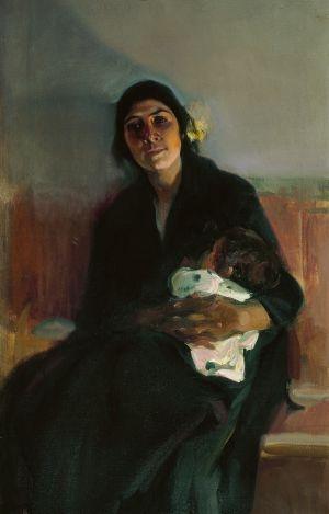 'Joaquina la gitana' (1914) de Joaquín Sorolla