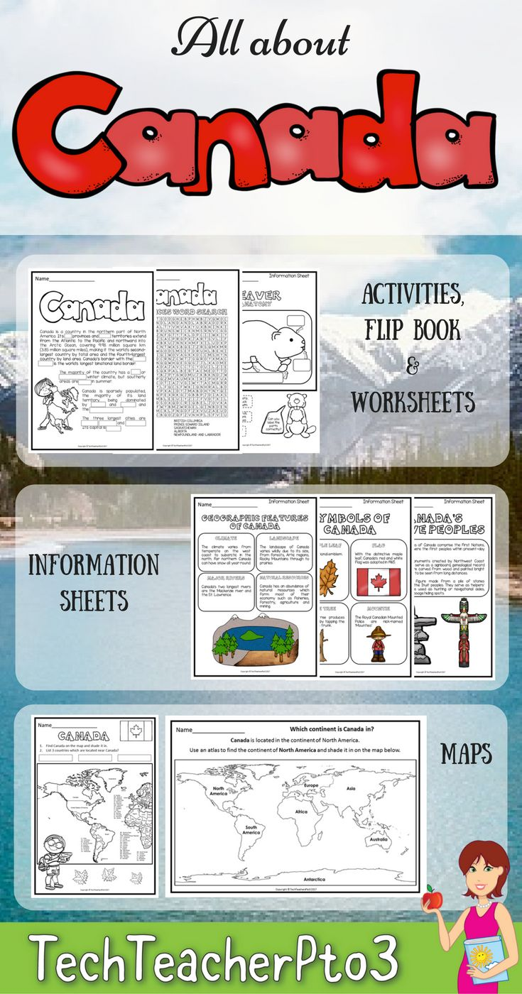 A great introduction to the study of places, this activity pack allows students to discover basic information about Canada such as its location in the world, symbols, celebrations, food and more.   Inside this pack you will find: Posters (colour), Maps,  Spinner for retells, Flip Book to record research, Research Sheets with links, Reading Comprehension Sheets, Flags, Word Search and Colouring Pages.