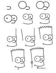 dessin facile a reproduire par etape disney - Recherche Google | Dessiner bart, Dessiner bart ...