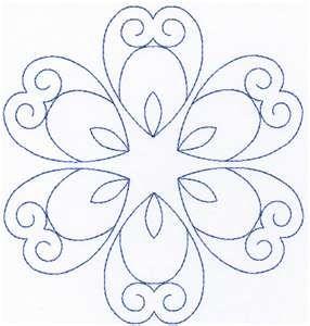 Dibujo de flor