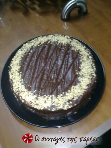 Γλάσο νουτέλας για επικάλυψη ή γέμιση κέικ #sintagespareas