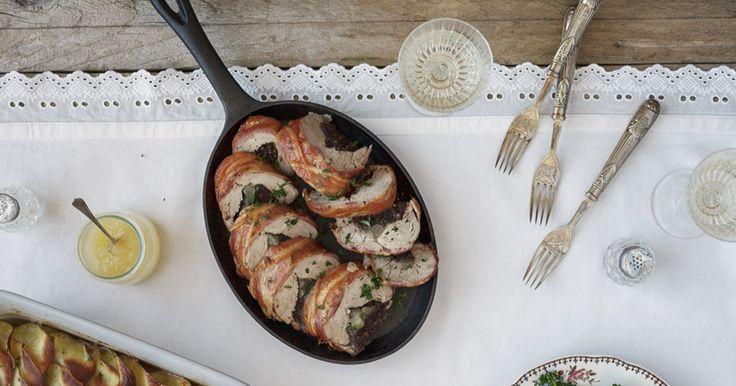 Black Pudding and Apple Stuffed Pork Fillet (Lidl)