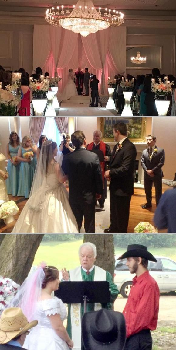 J. Patrick McDunn is among the wedding officials who