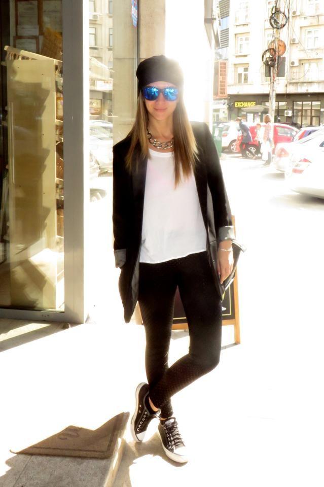 Adela Popescu #casual look