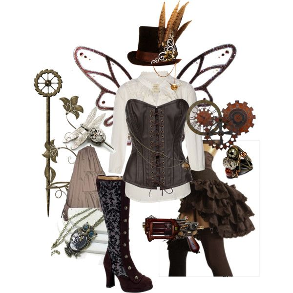 Steampunk Faerie...getting ready for next years Faericon!